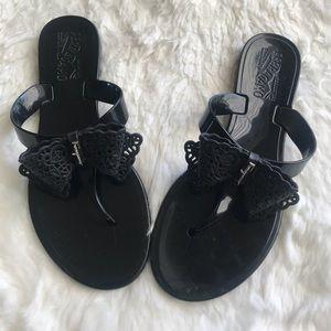 salvatore ferragamo sandals Size 5